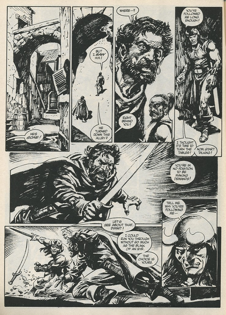 The Savage Sword Of Conan Issue #189 #190 - English 18