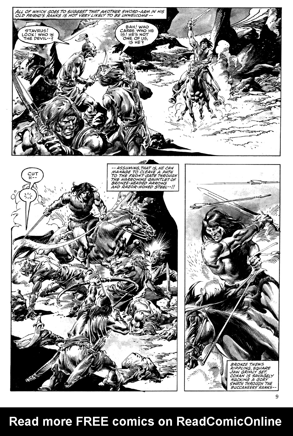 The Savage Sword Of Conan Issue #101 #102 - English 9