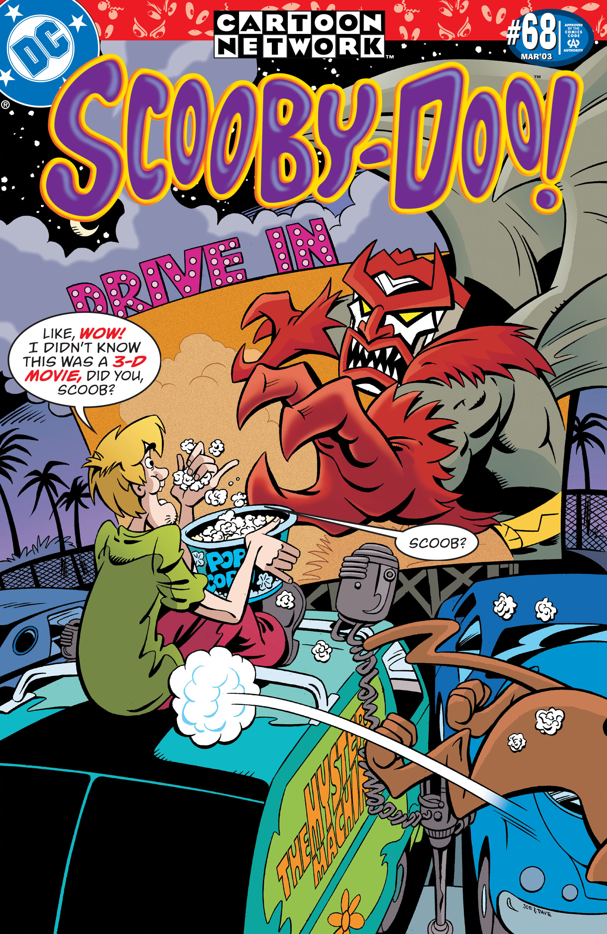 Read online Scooby-Doo (1997) comic -  Issue #68 - 1