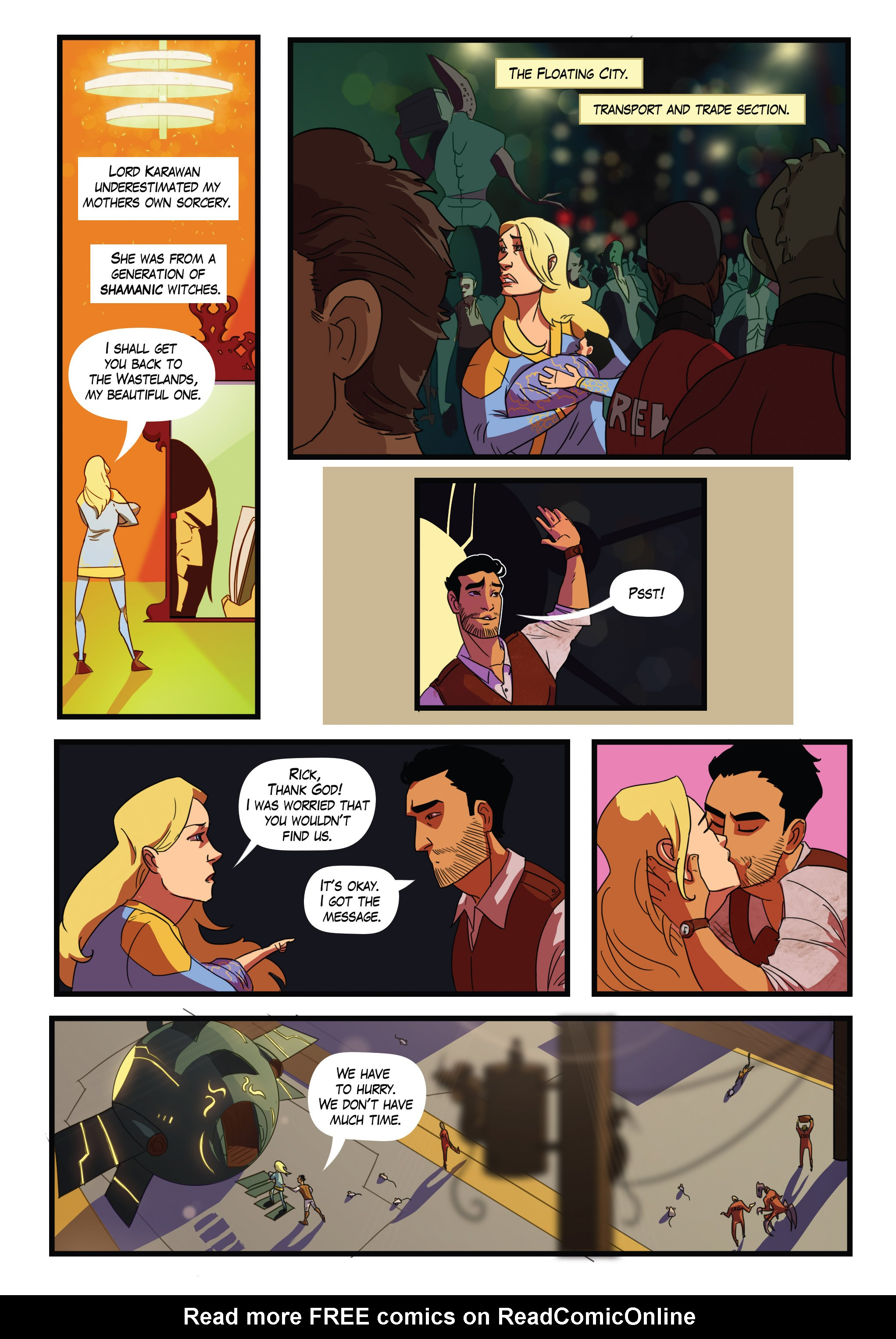 Read online Scavenger comic -  Issue #1 - 7