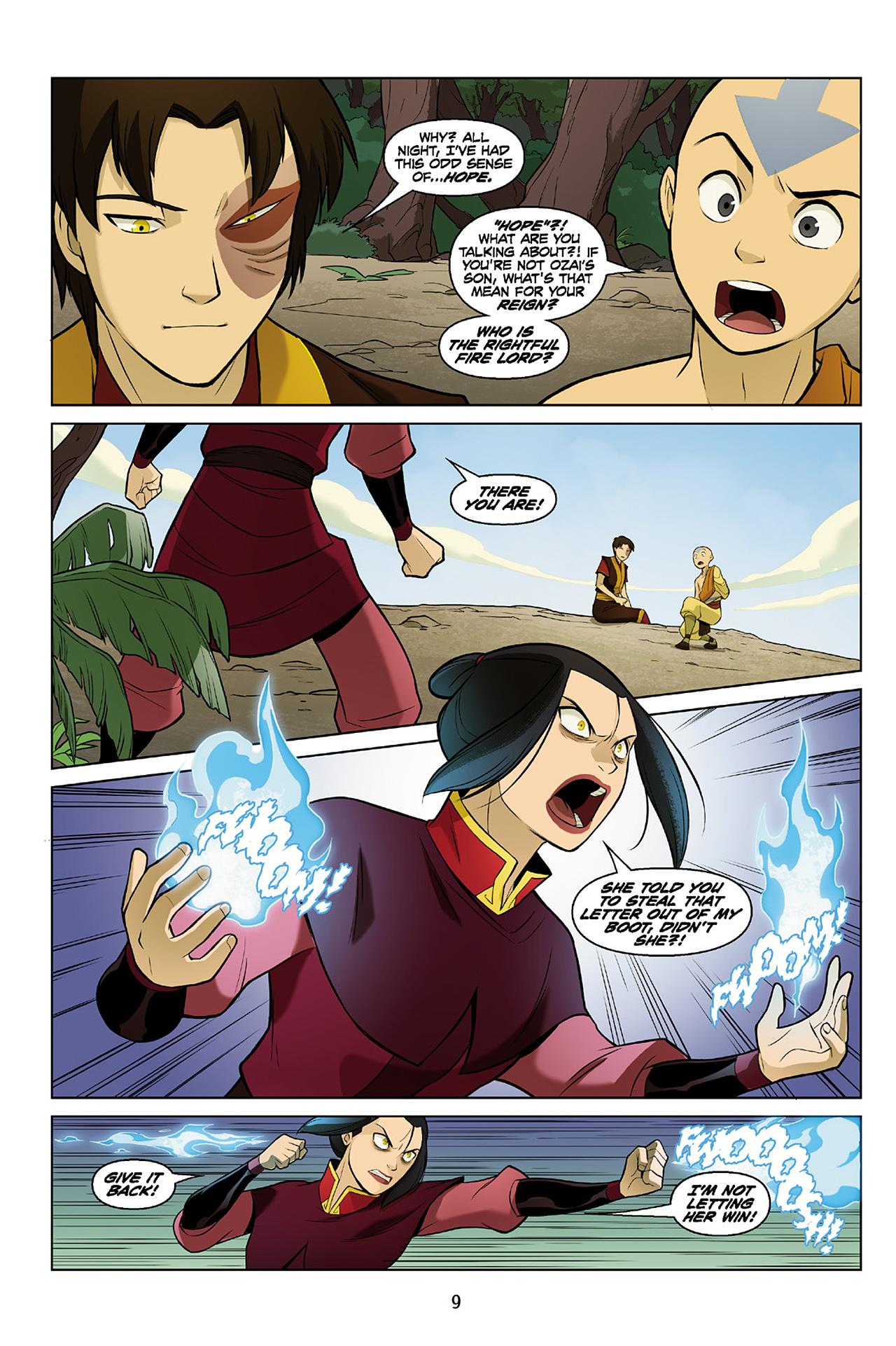 Read online Nickelodeon Avatar: The Last Airbender - The Search comic -  Issue # Part 2 - 10