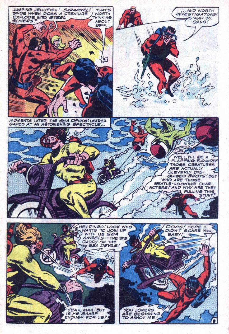 Read online Sea Devils comic -  Issue #34 - 6