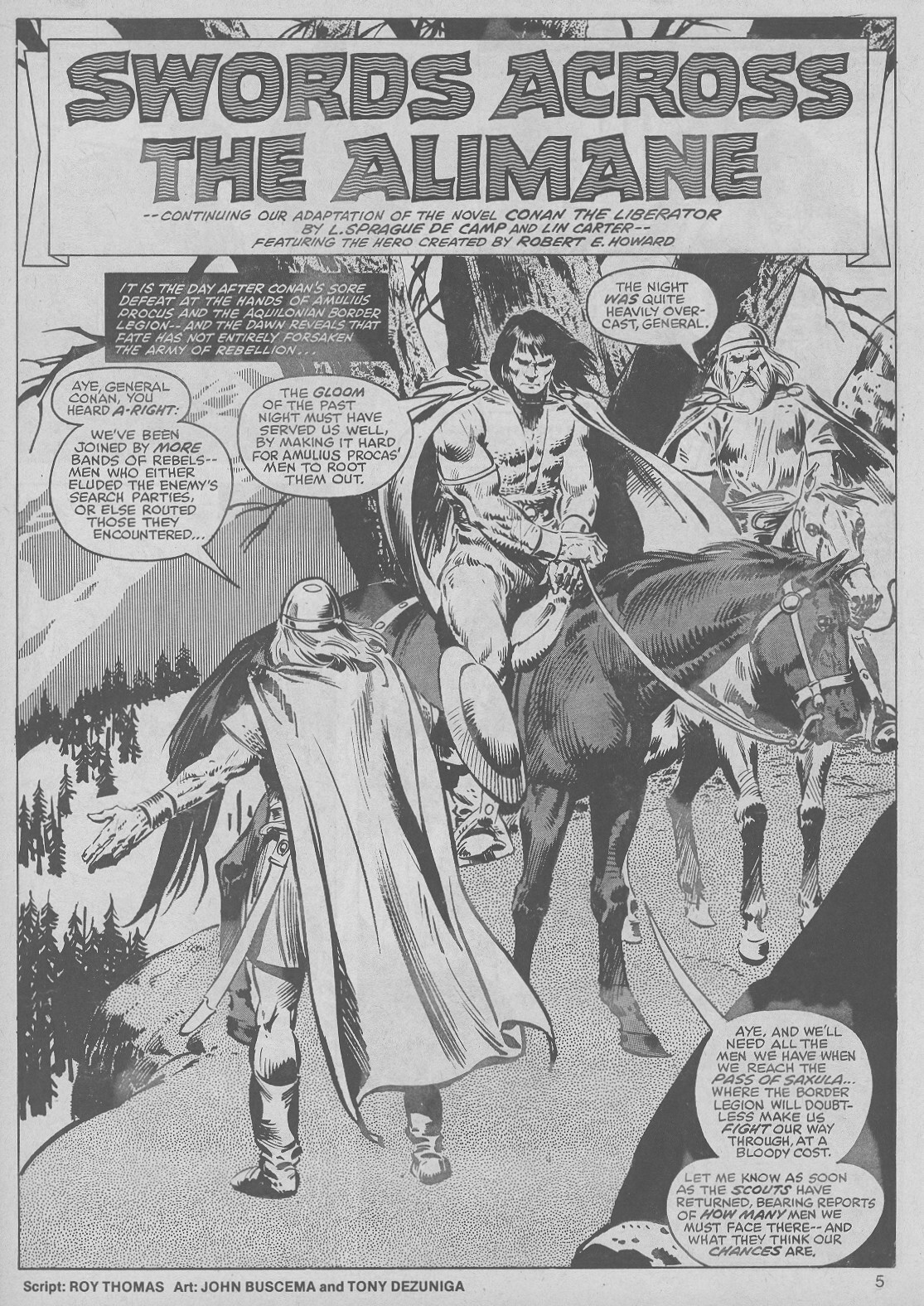 The Savage Sword Of Conan Issue #50 #51 - English 5