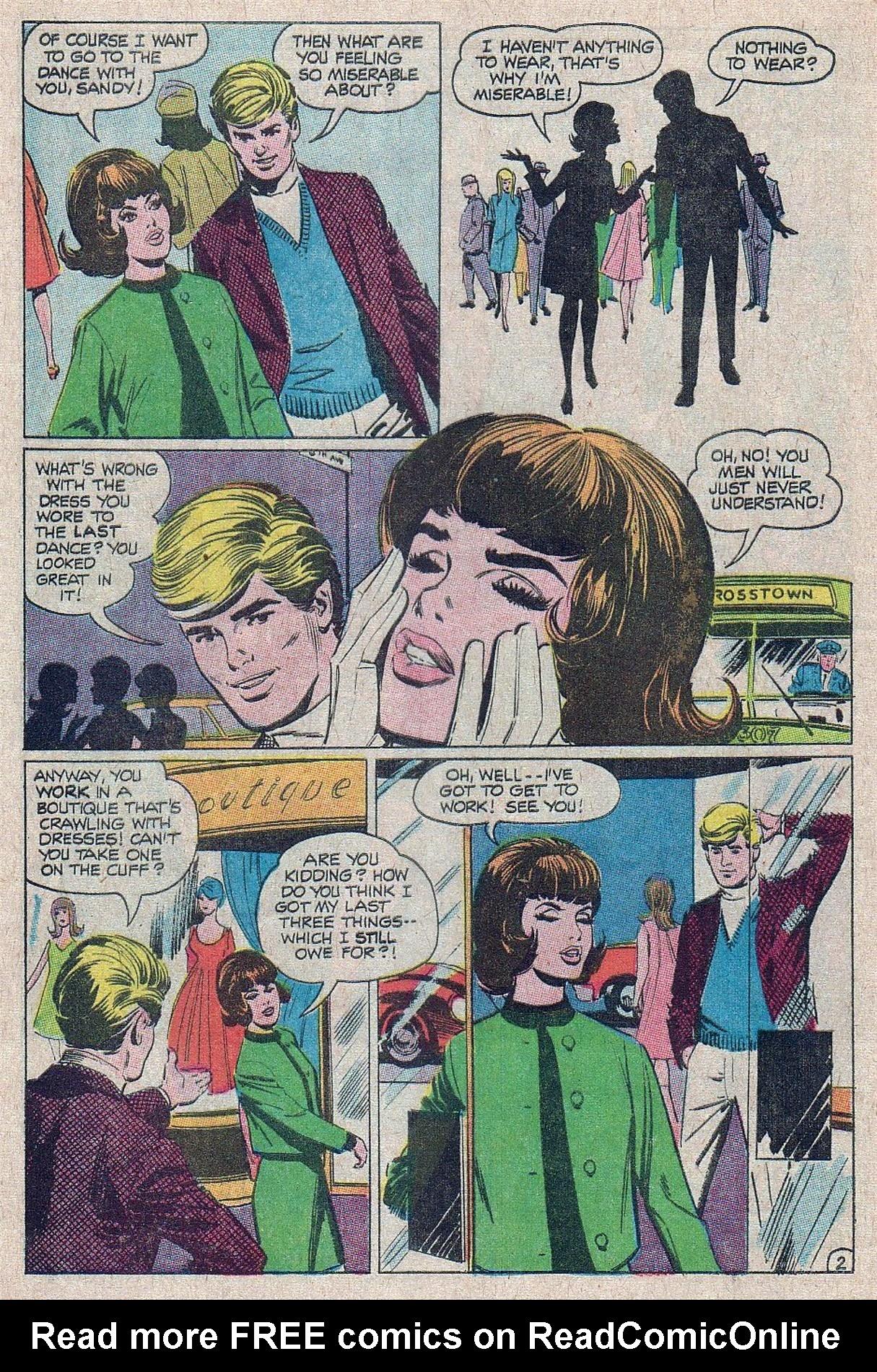 Read online Secret Hearts comic -  Issue #129 - 4