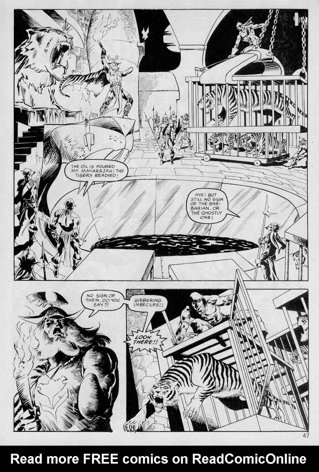 The Savage Sword Of Conan Issue #103 #104 - English 46