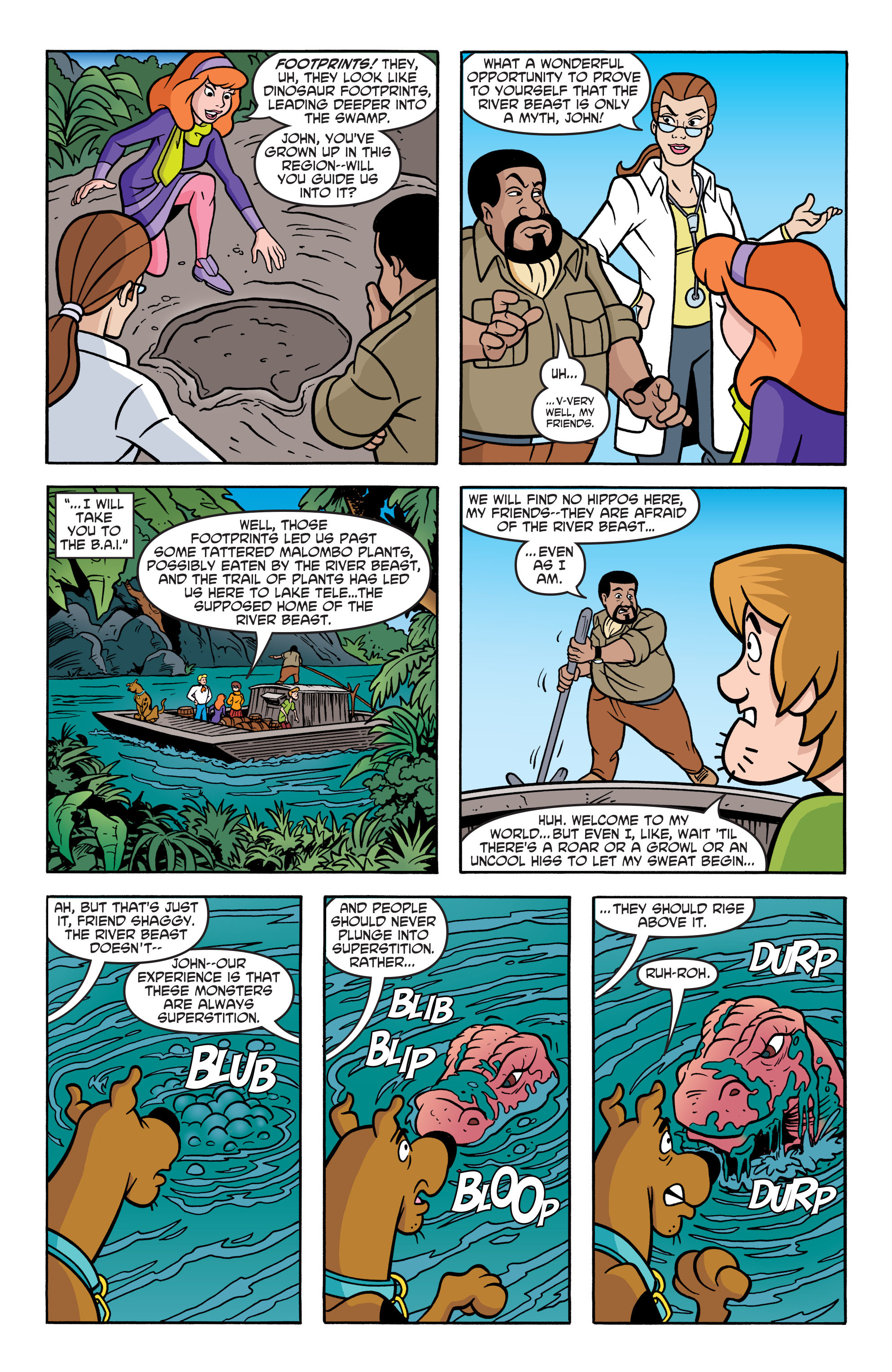 Read online Scooby-Doo: Where Are You? comic -  Issue #67 - 14