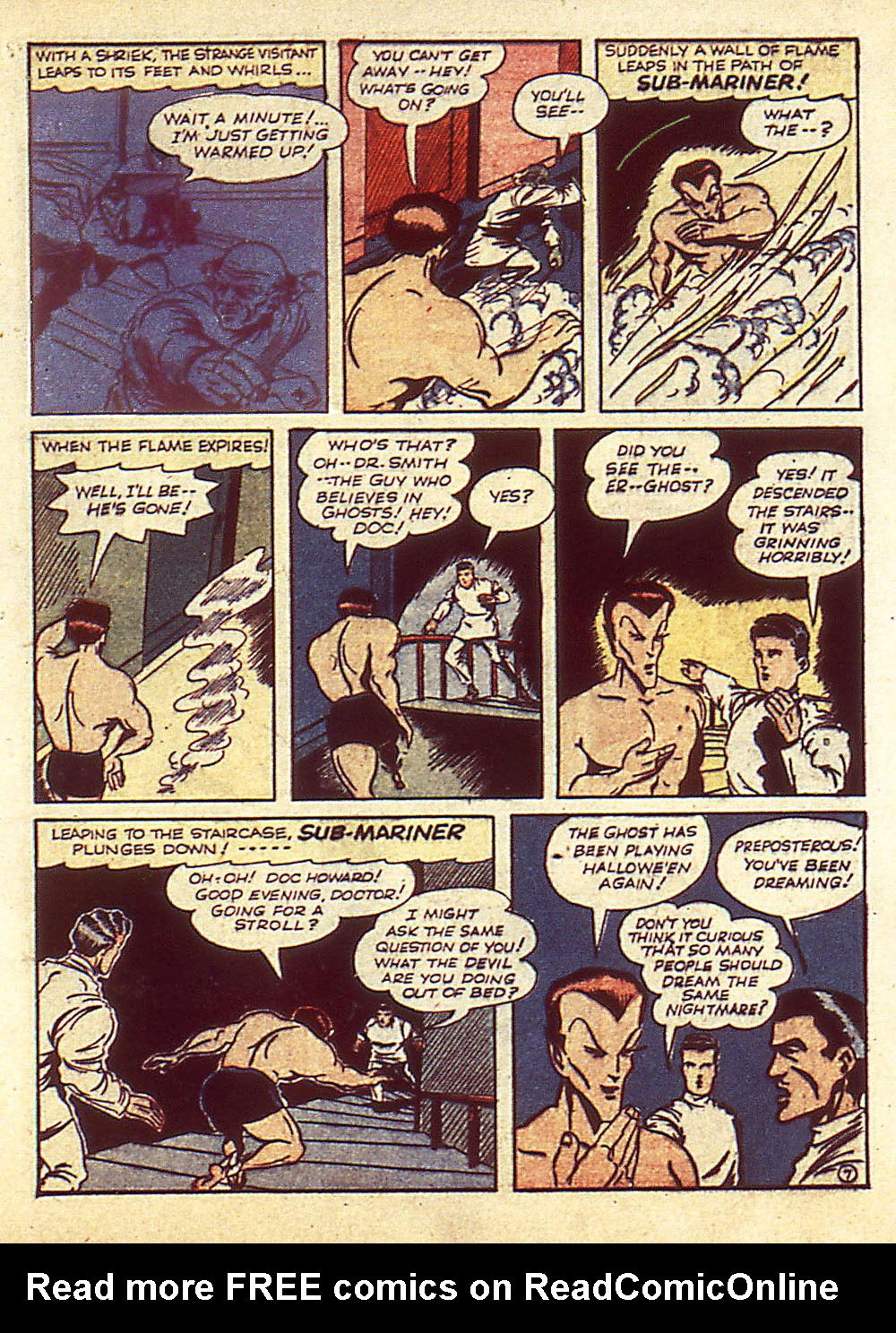 Sub-Mariner Comics Issue #4 #4 - English 10