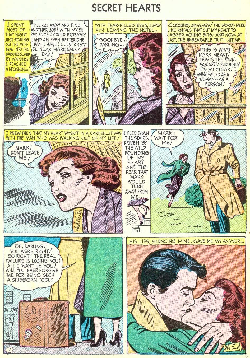 Read online Secret Hearts comic -  Issue #22 - 22