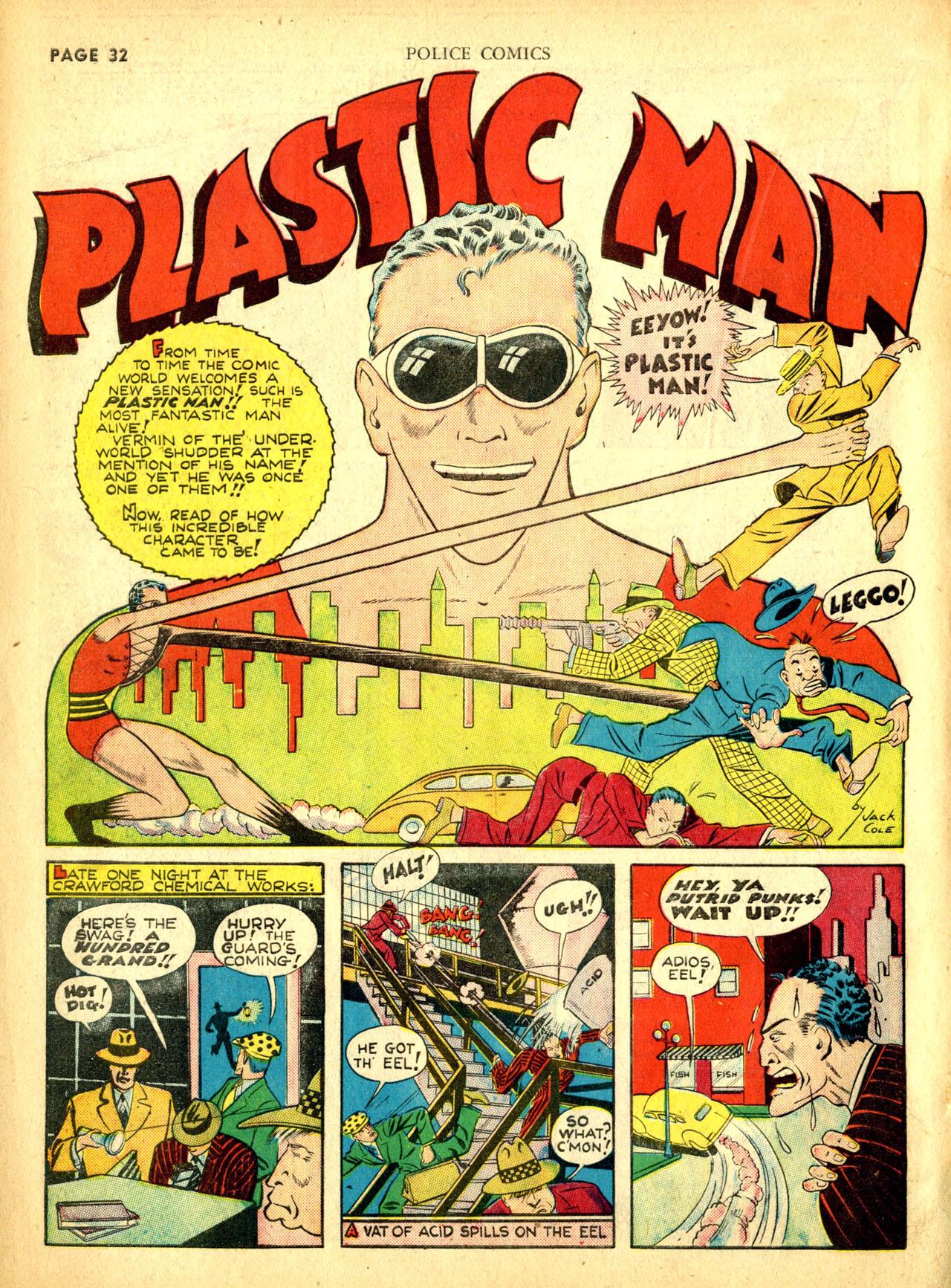 Police Comics #1 #127 - English 35