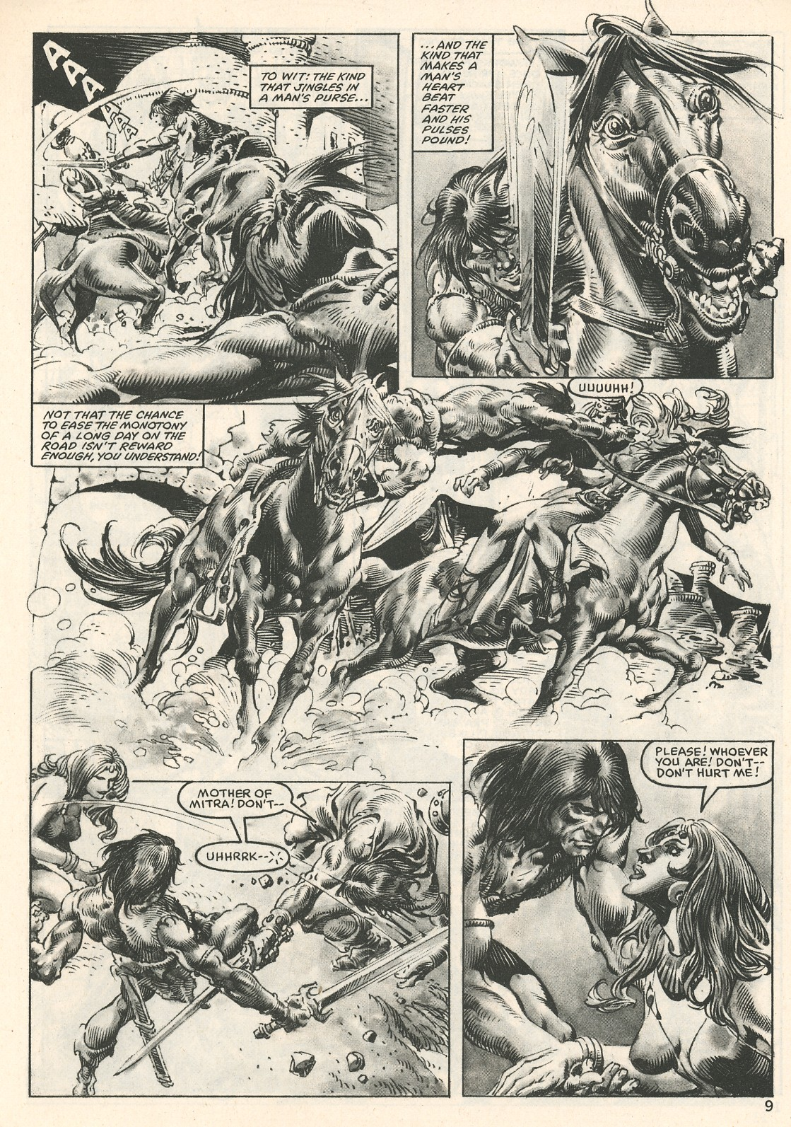 The Savage Sword Of Conan Issue #107 #108 - English 9