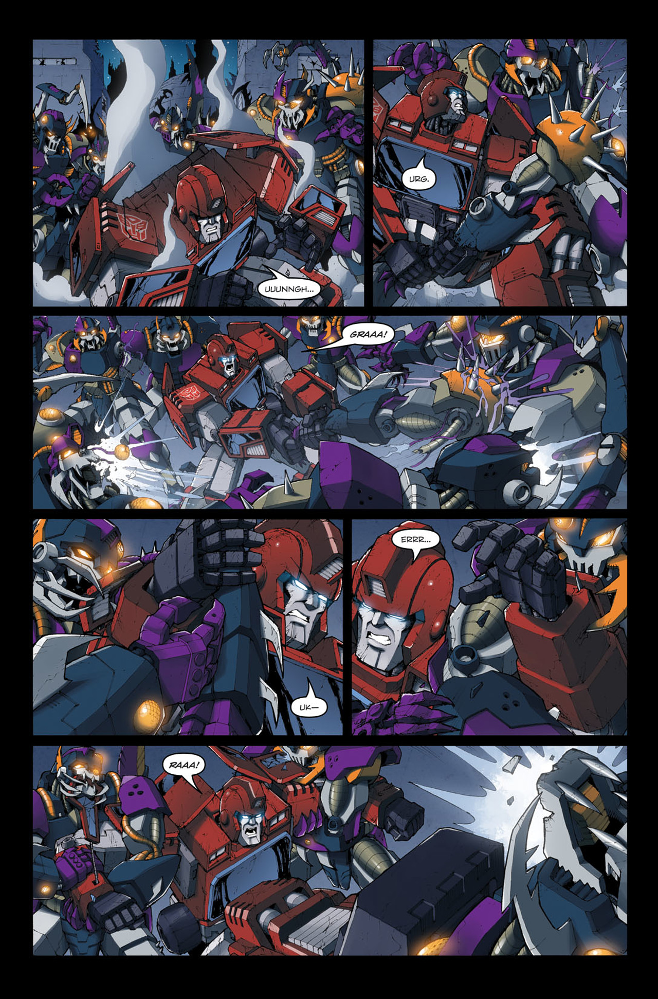 Read online The Transformers: Ironhide comic -  Issue #4 - 12