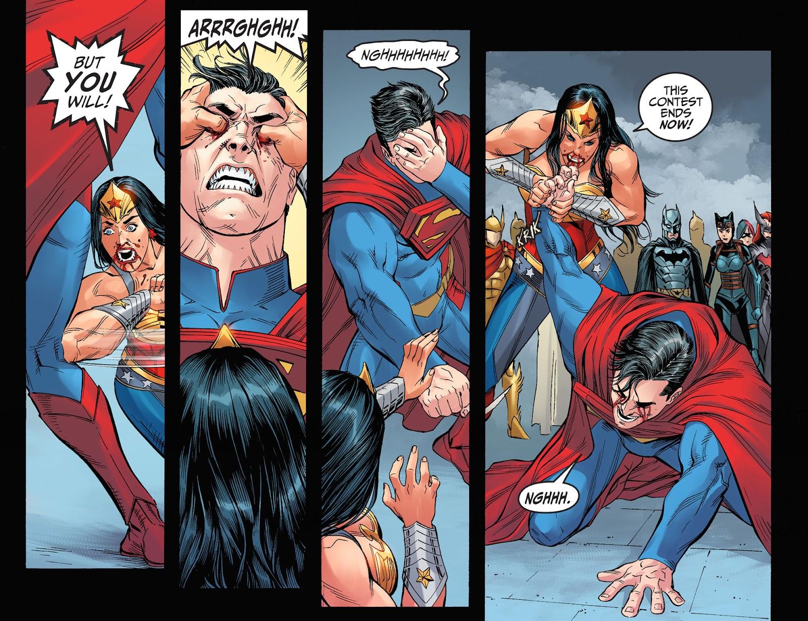 Injustice: Gods Among Us Year Four Issue #8 #9 - English 21