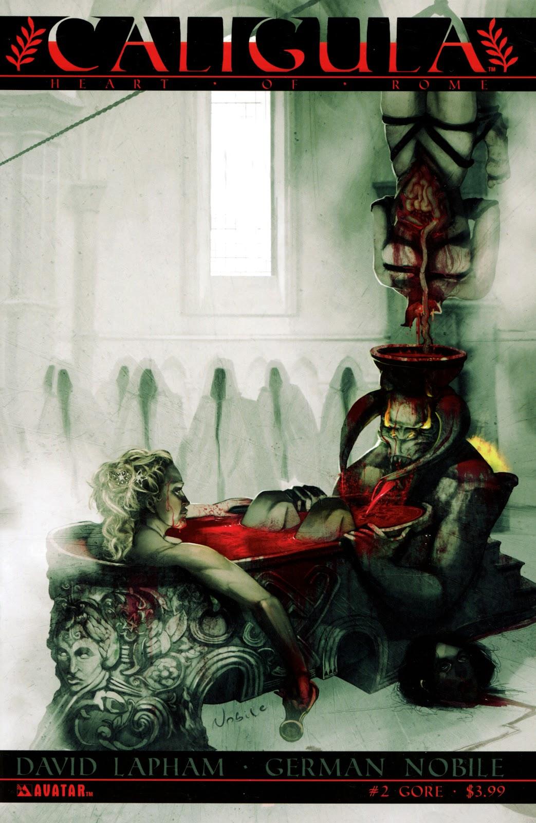 Caligula: Heart of Rome Issue #2 #2 - English 1