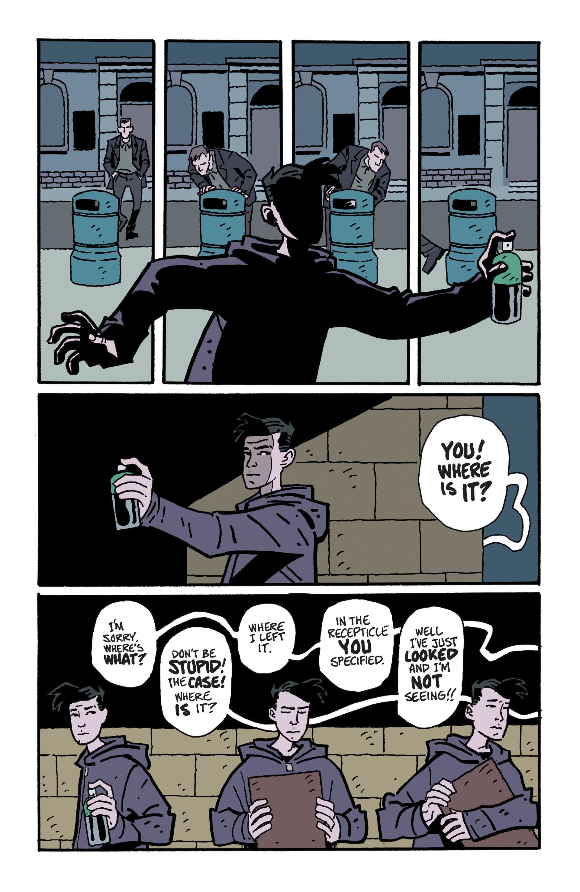 Mudman #6 #7 - English 18