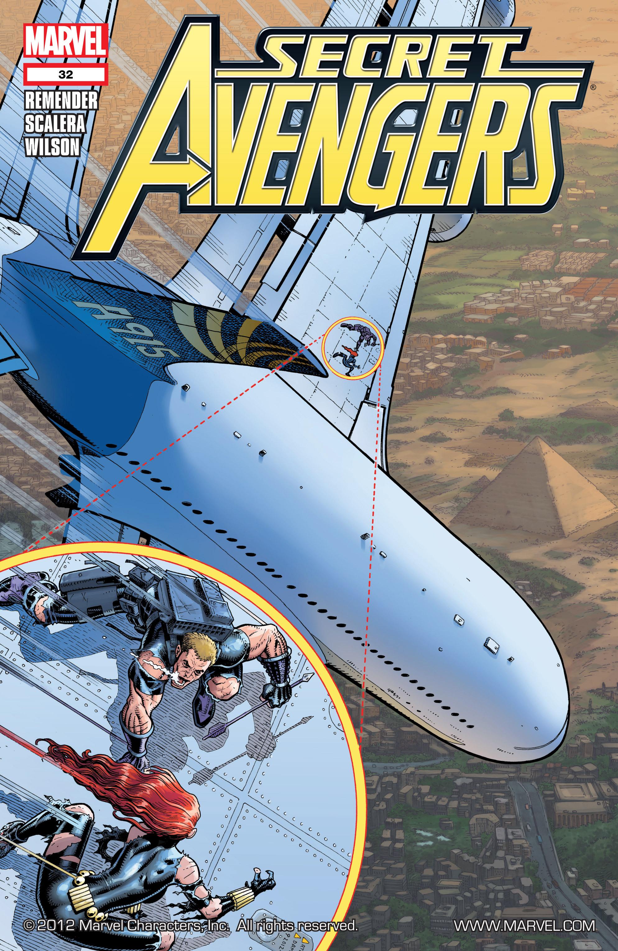 Read online Secret Avengers (2010) comic -  Issue #32 - 1