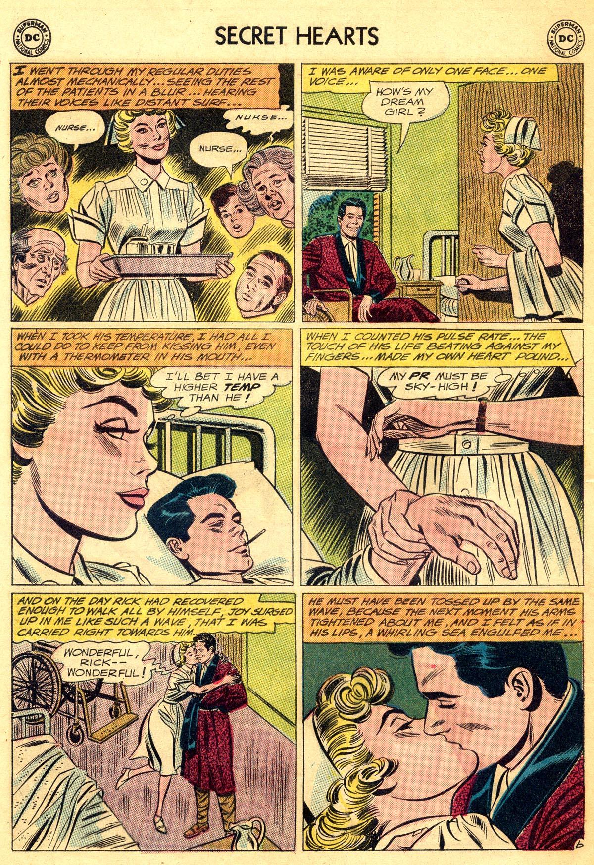 Read online Secret Hearts comic -  Issue #81 - 32