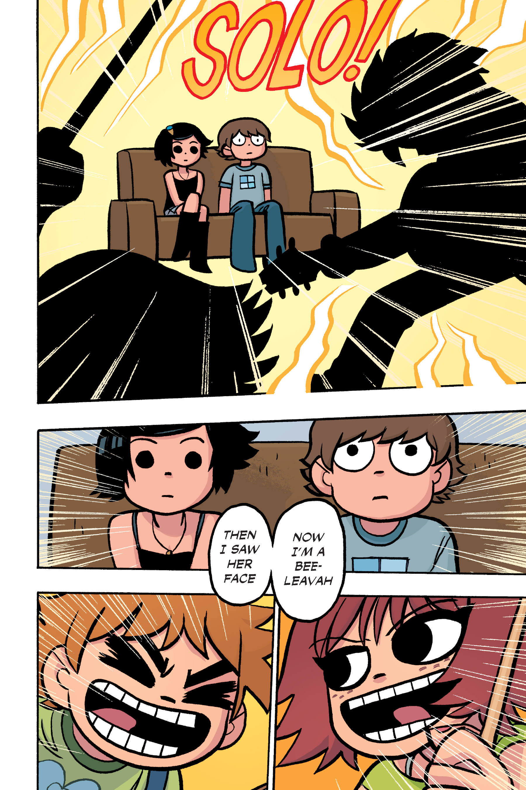 Read online Scott Pilgrim comic -  Issue #6 - 233