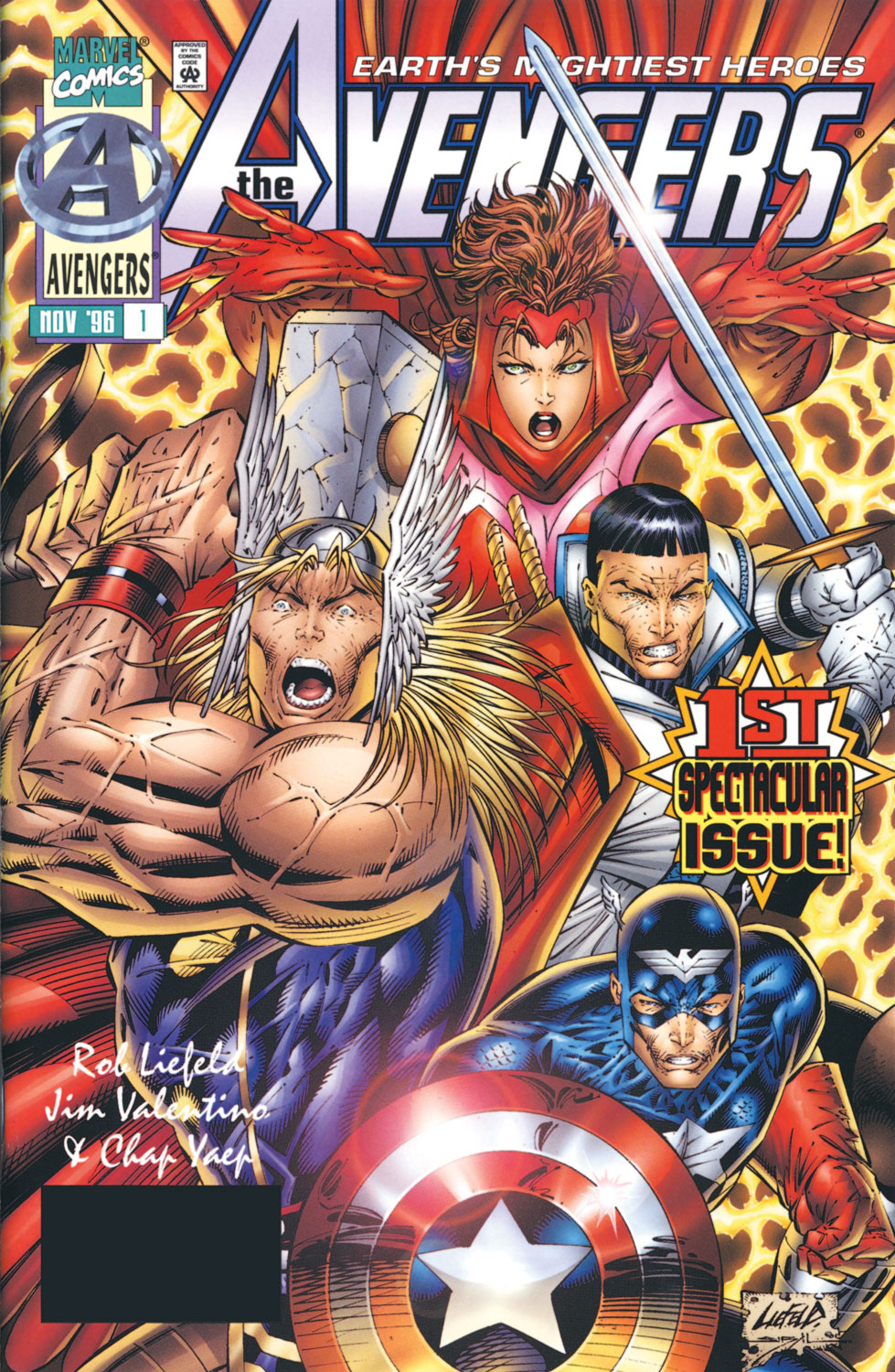 Read online Avengers (1996) comic -  Issue #1 - 1