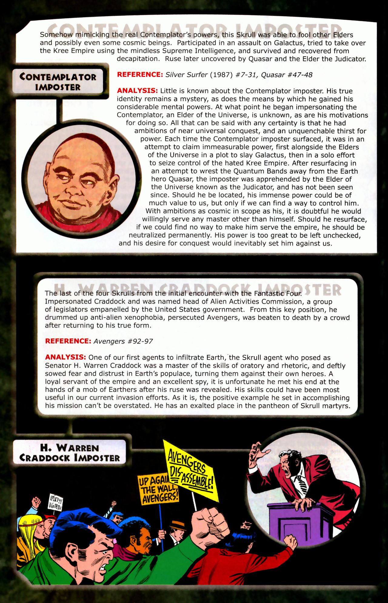 Read online Skrulls! comic -  Issue # Full - 10