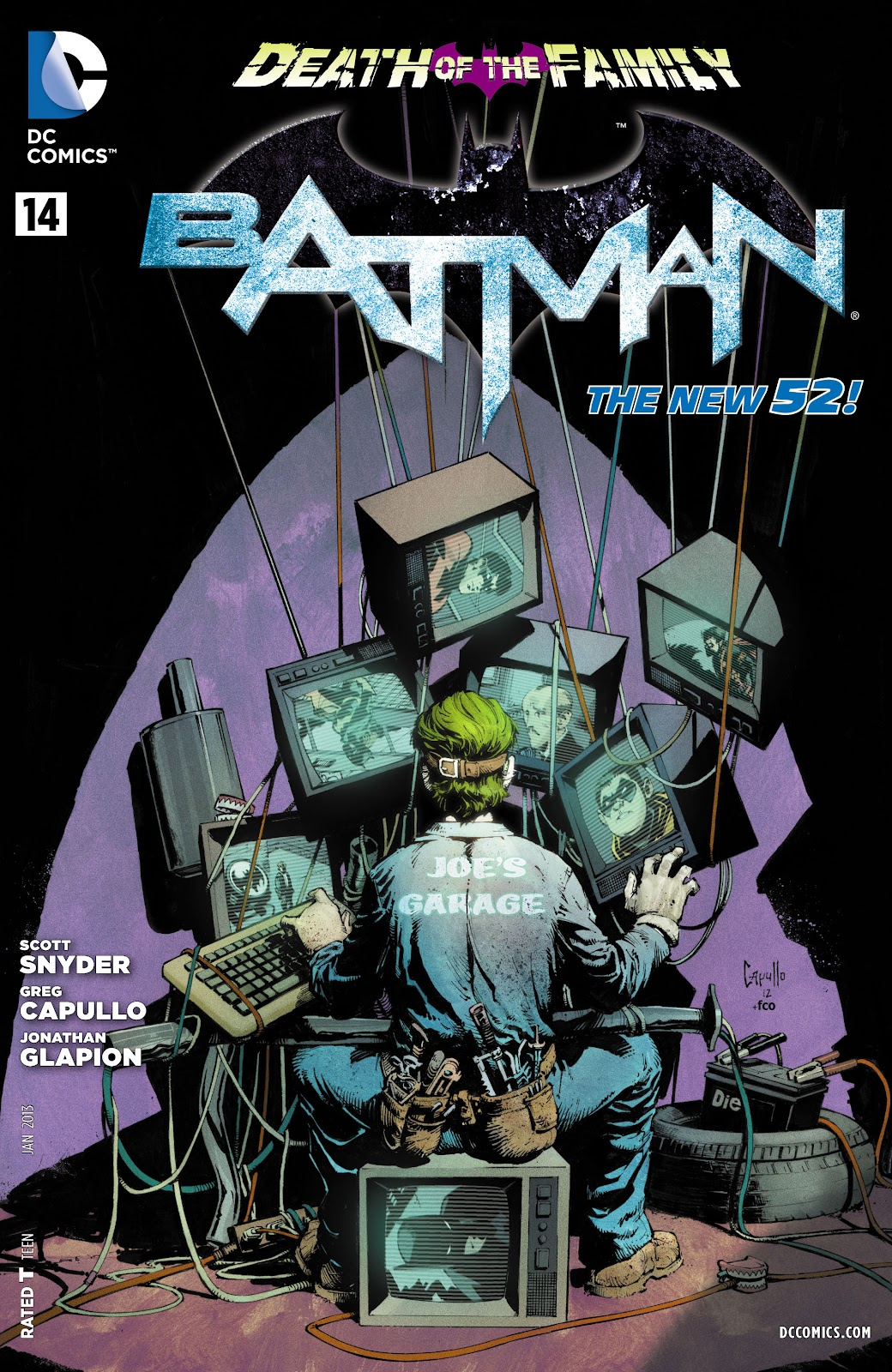 Batman (2011) Issue #14 #29 - English 31