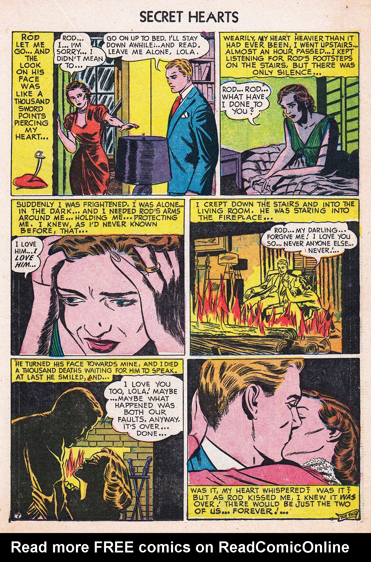 Read online Secret Hearts comic -  Issue #13 - 17