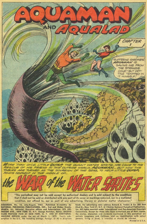 Aquaman (1962) Issue #10 #10 - English 3