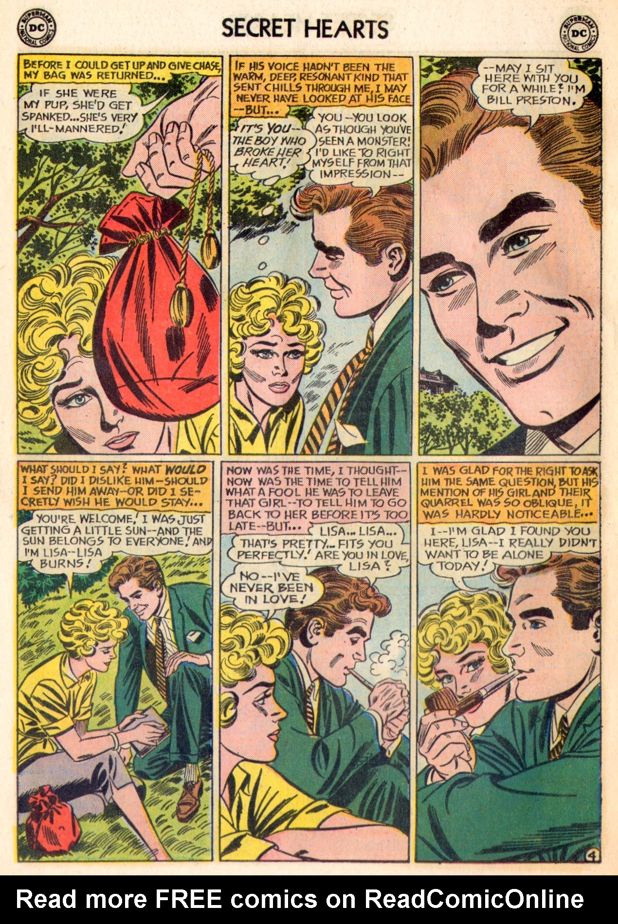 Read online Secret Hearts comic -  Issue #84 - 30