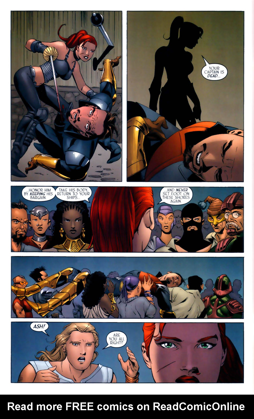 Read online Scion comic -  Issue #30 - 22
