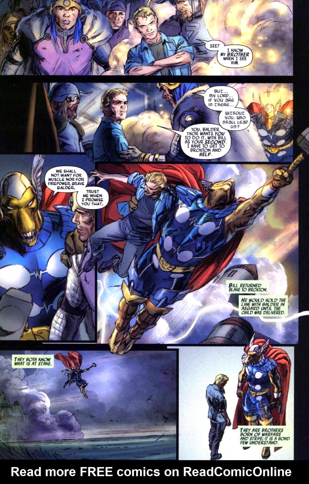 Read online Secret Invasion: Thor comic -  Issue #1 - 19