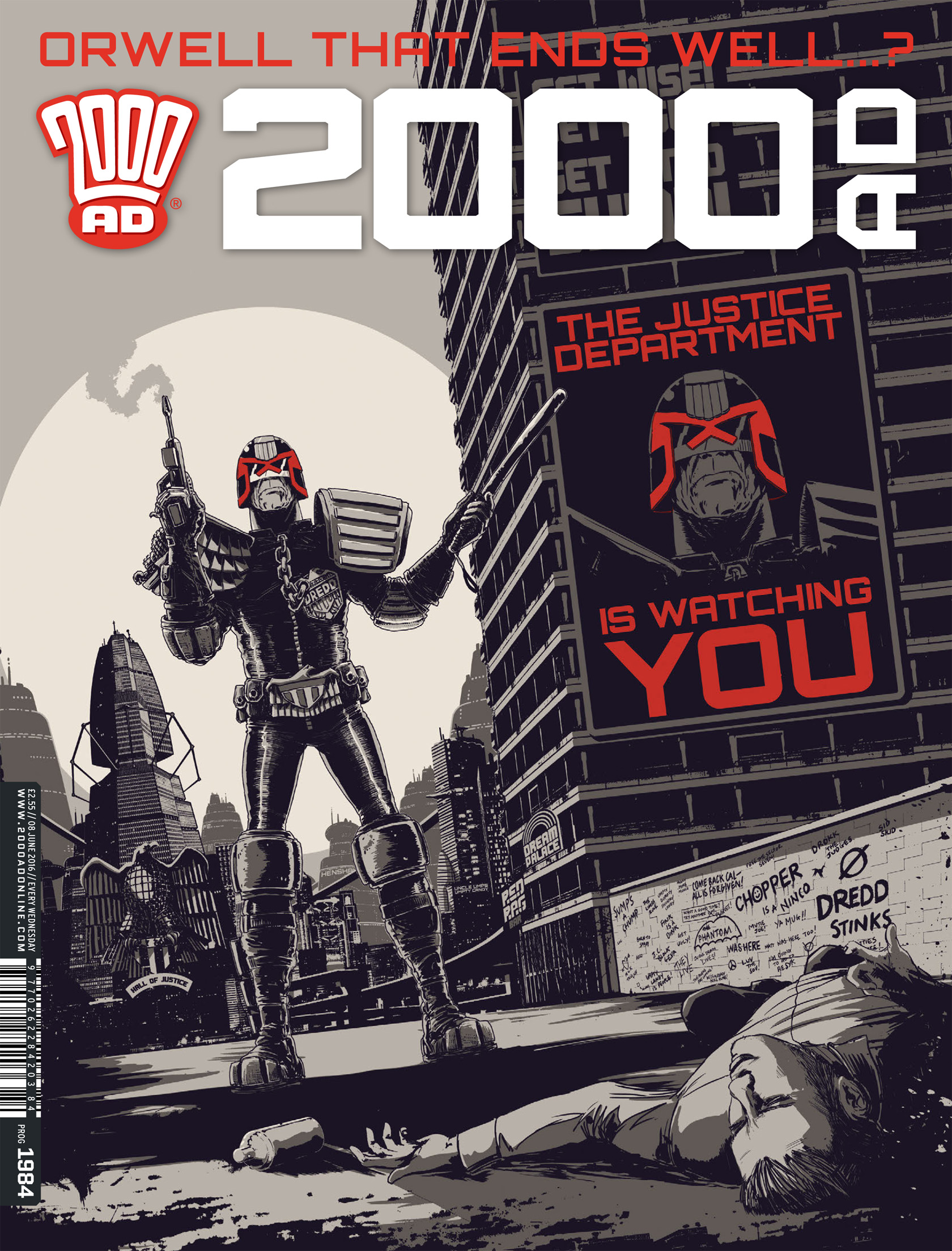 2000 AD 1984 Page 1
