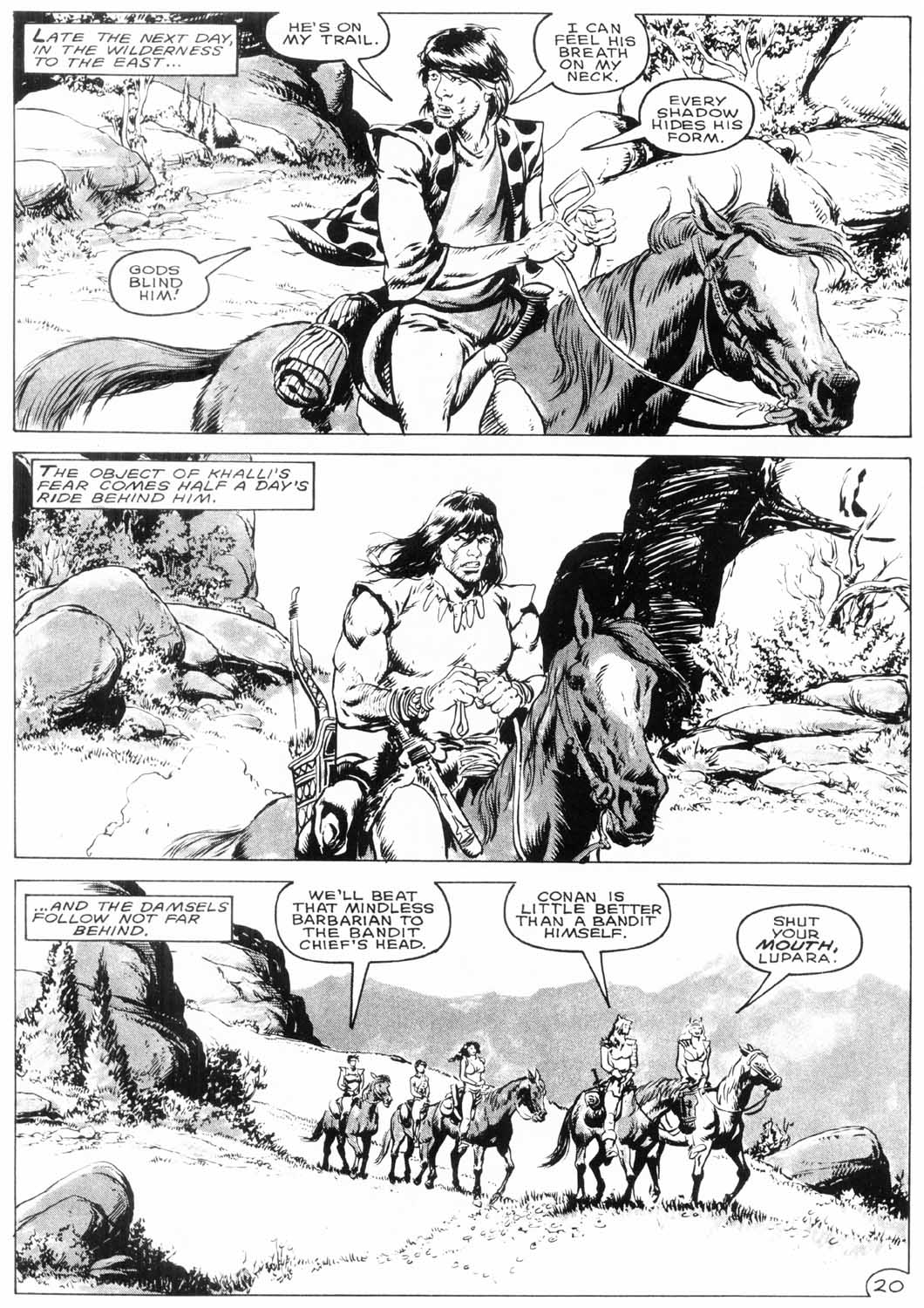 The Savage Sword Of Conan Issue #154 #155 - English 23