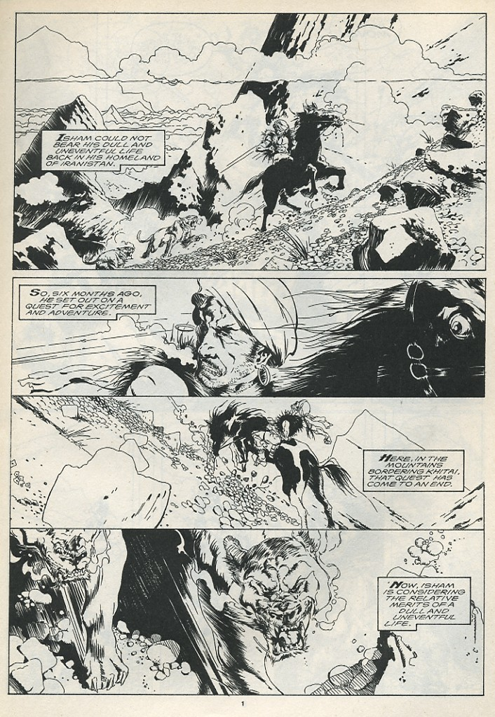 The Savage Sword Of Conan Issue #175 #176 - English 3