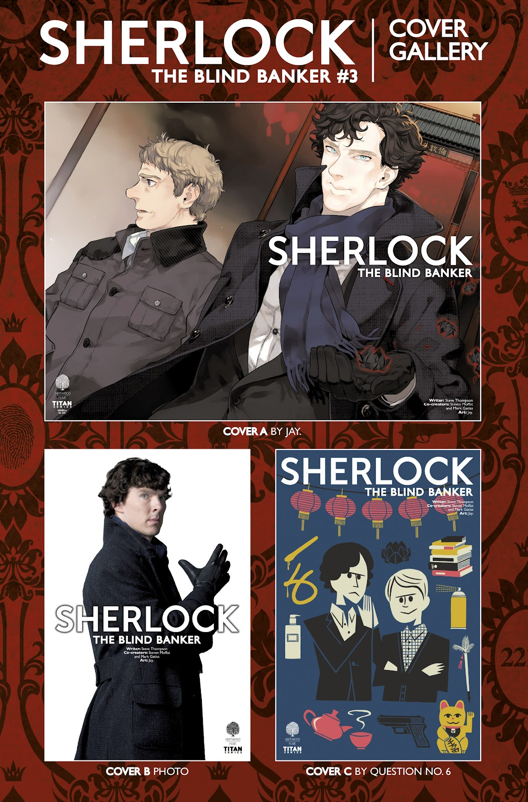 Sherlock: The Blind Banker Issue #3 #3 - English 40