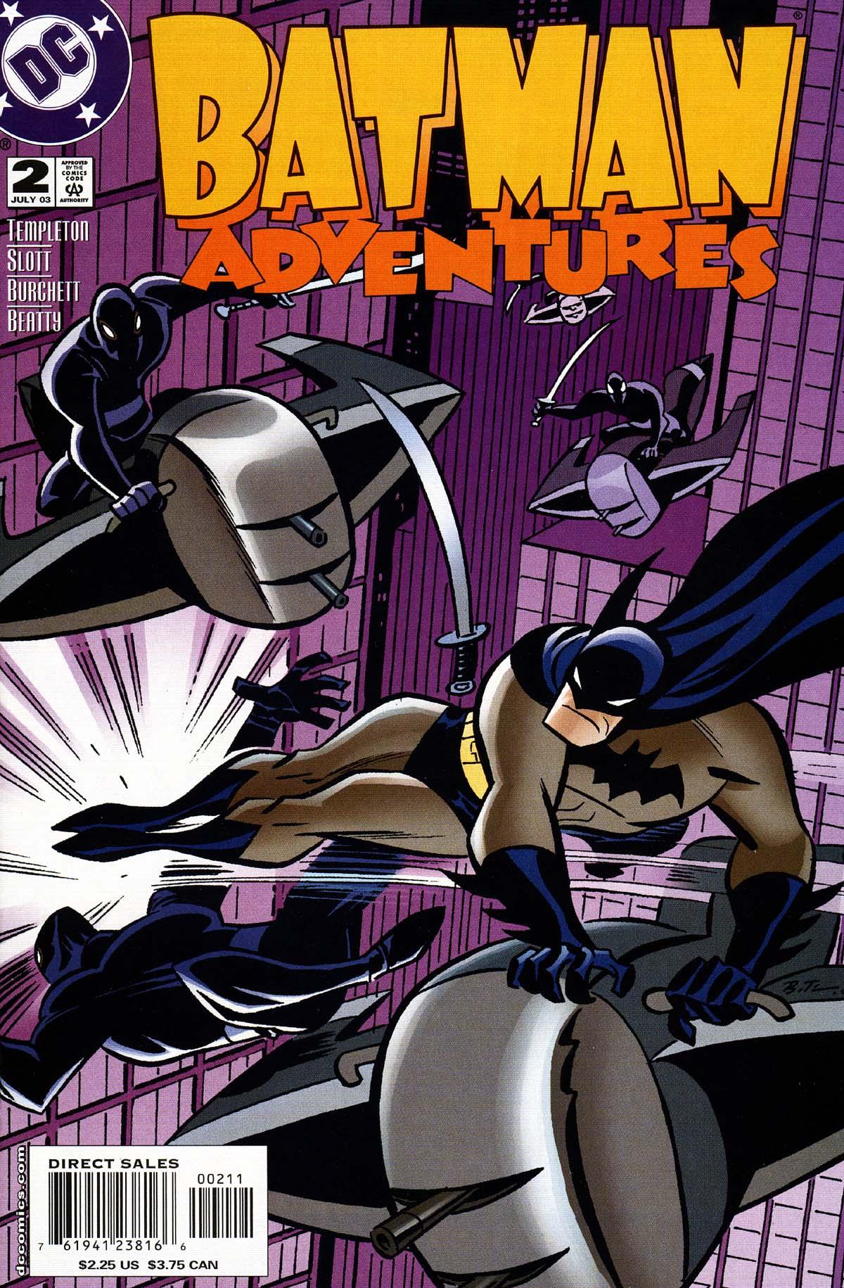 Batman Adventures (2003) 2 Page 1