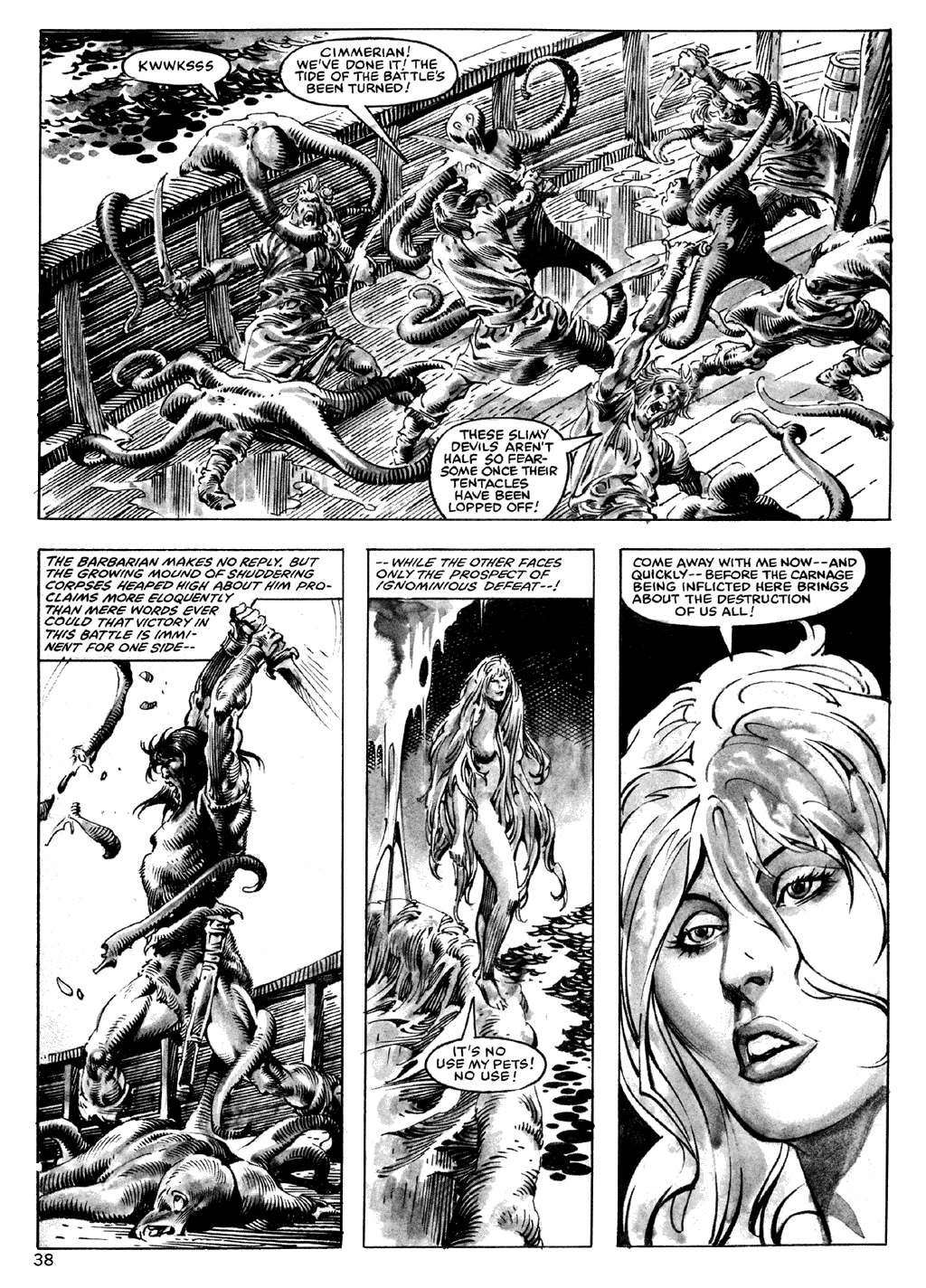 The Savage Sword Of Conan Issue #101 #102 - English 38