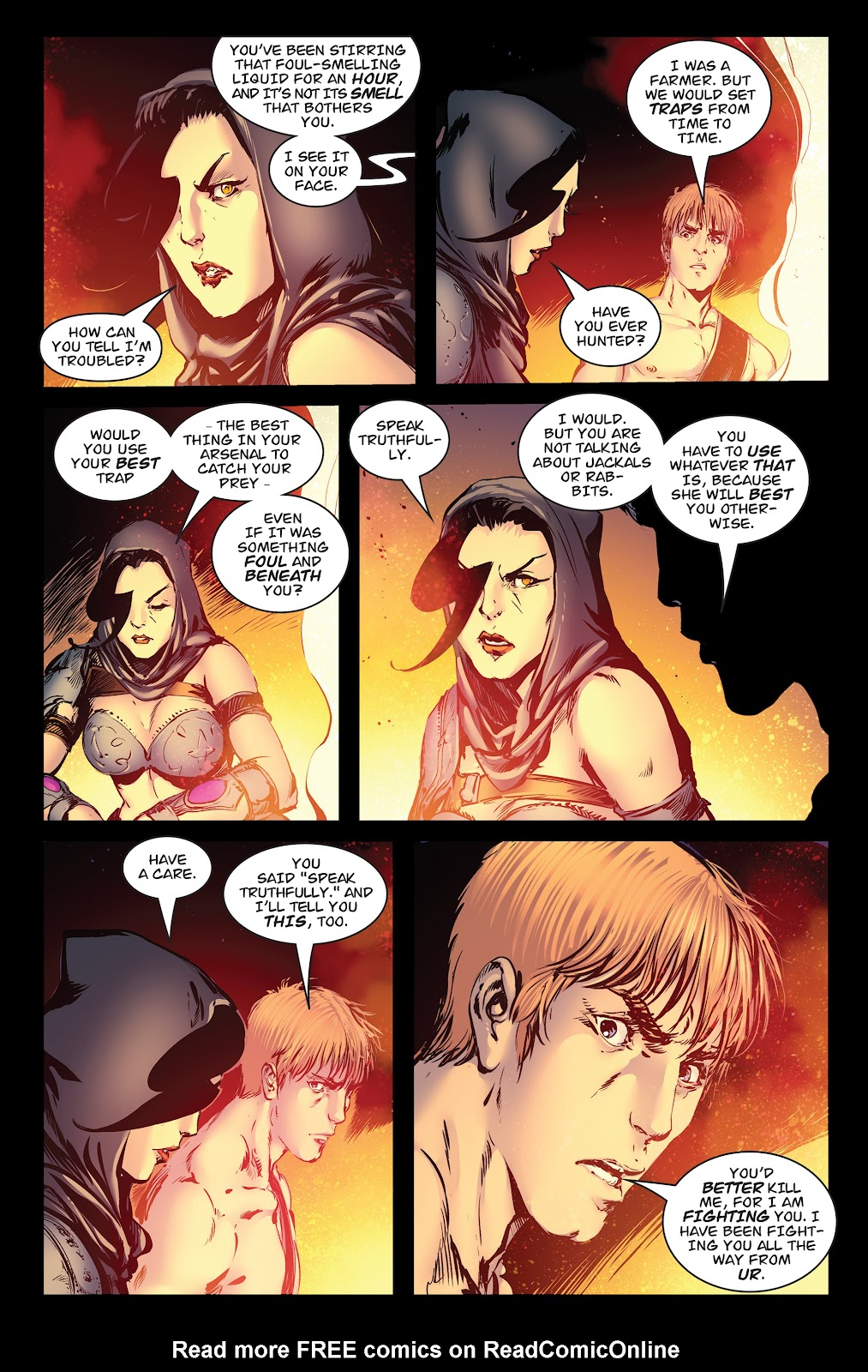 Queen of Vampires Issue #7 #7 - English 5