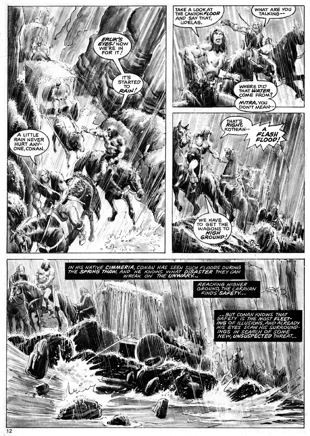 The Savage Sword Of Conan Issue #69 #70 - English 12