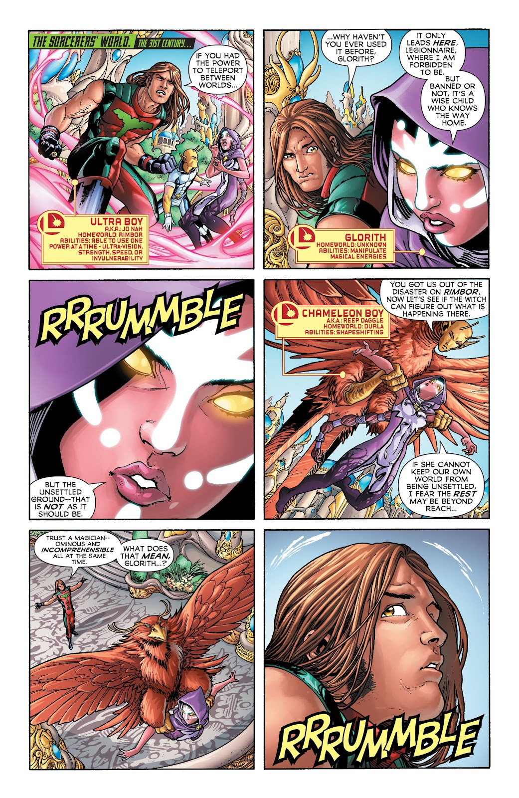 Legion of Super-Heroes (2011) Issue #20 #21 - English 2