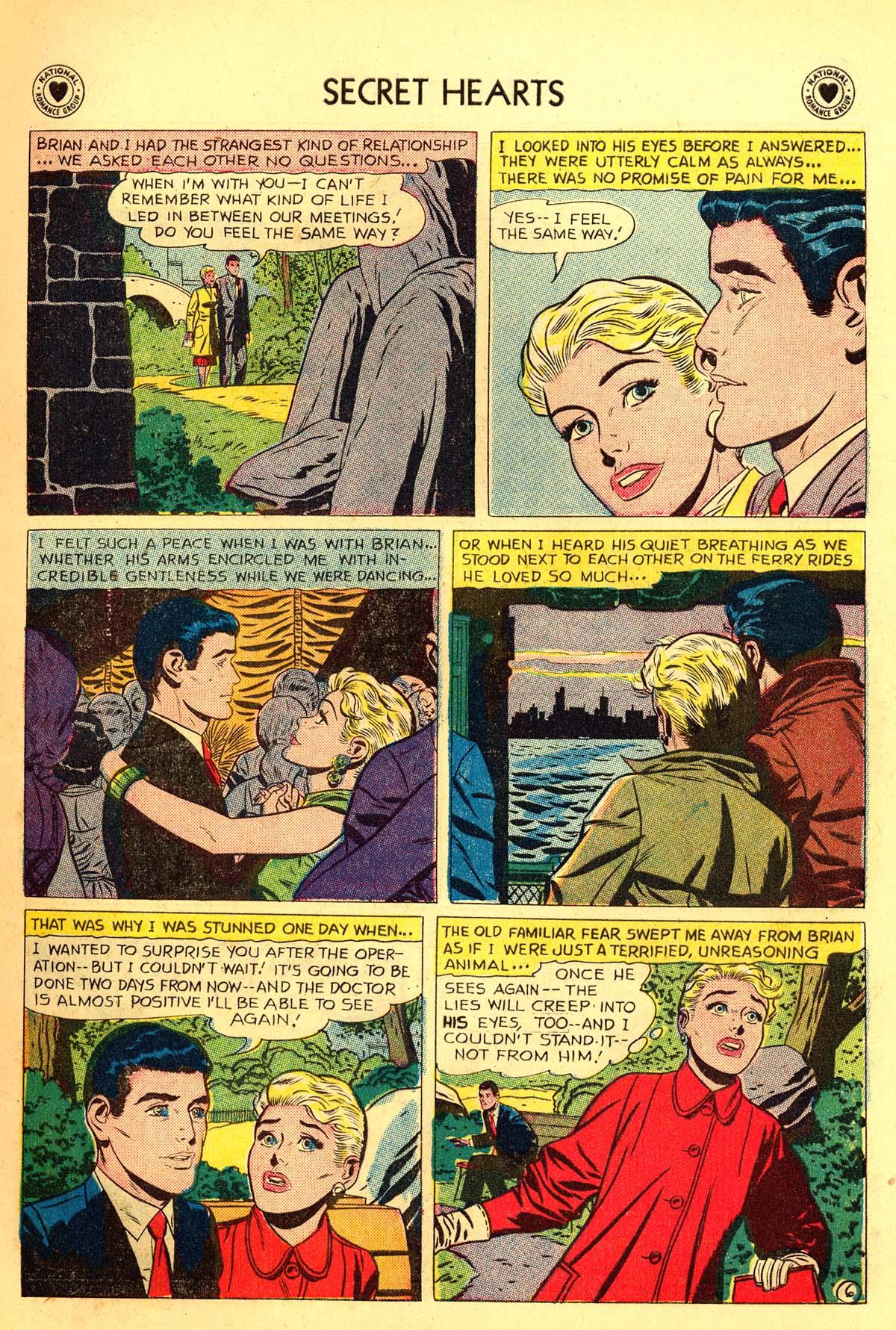 Read online Secret Hearts comic -  Issue #54 - 15