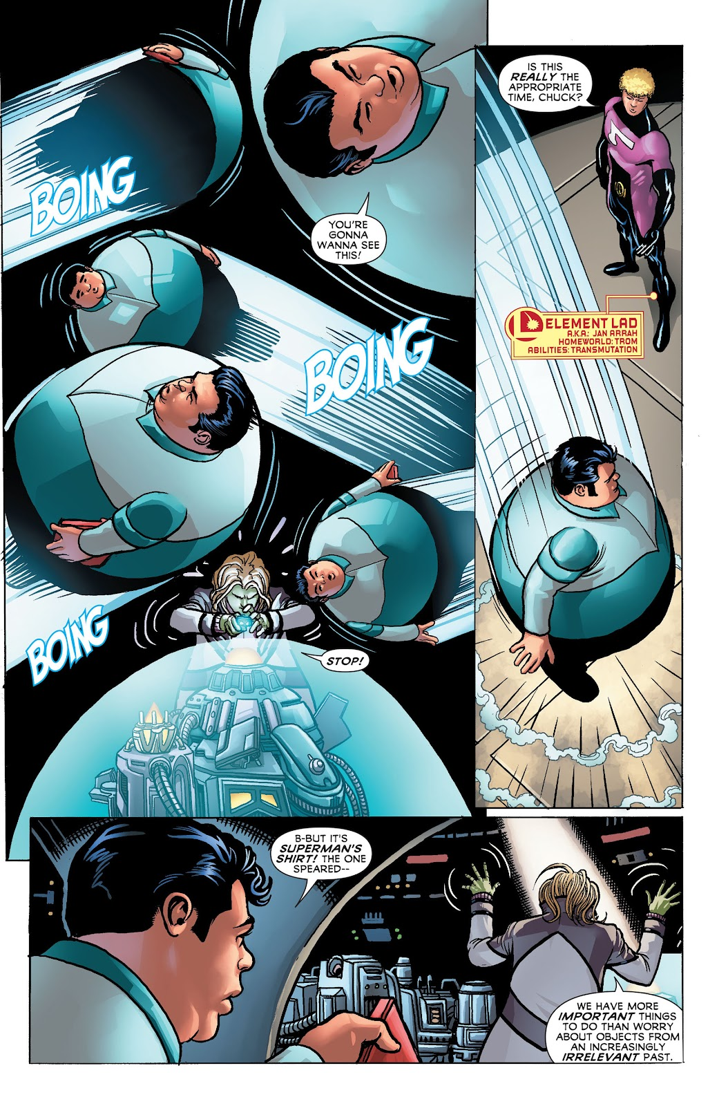 Legion of Super-Heroes (2011) Issue #23 #24 - English 9