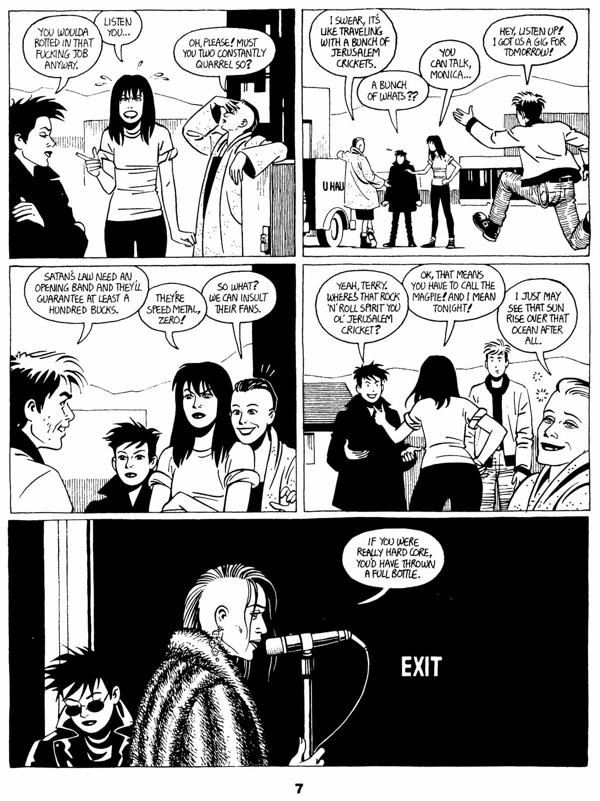 Love and Rockets (1982) Issue #21 #20 - English 9