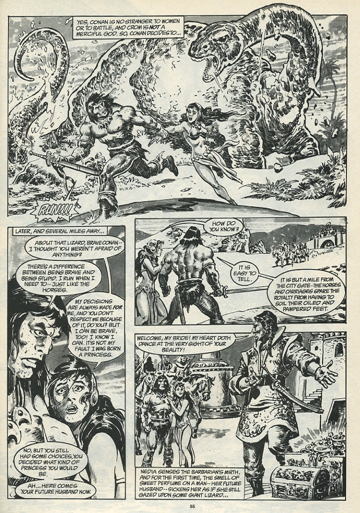The Savage Sword Of Conan Issue #185 #186 - English 57