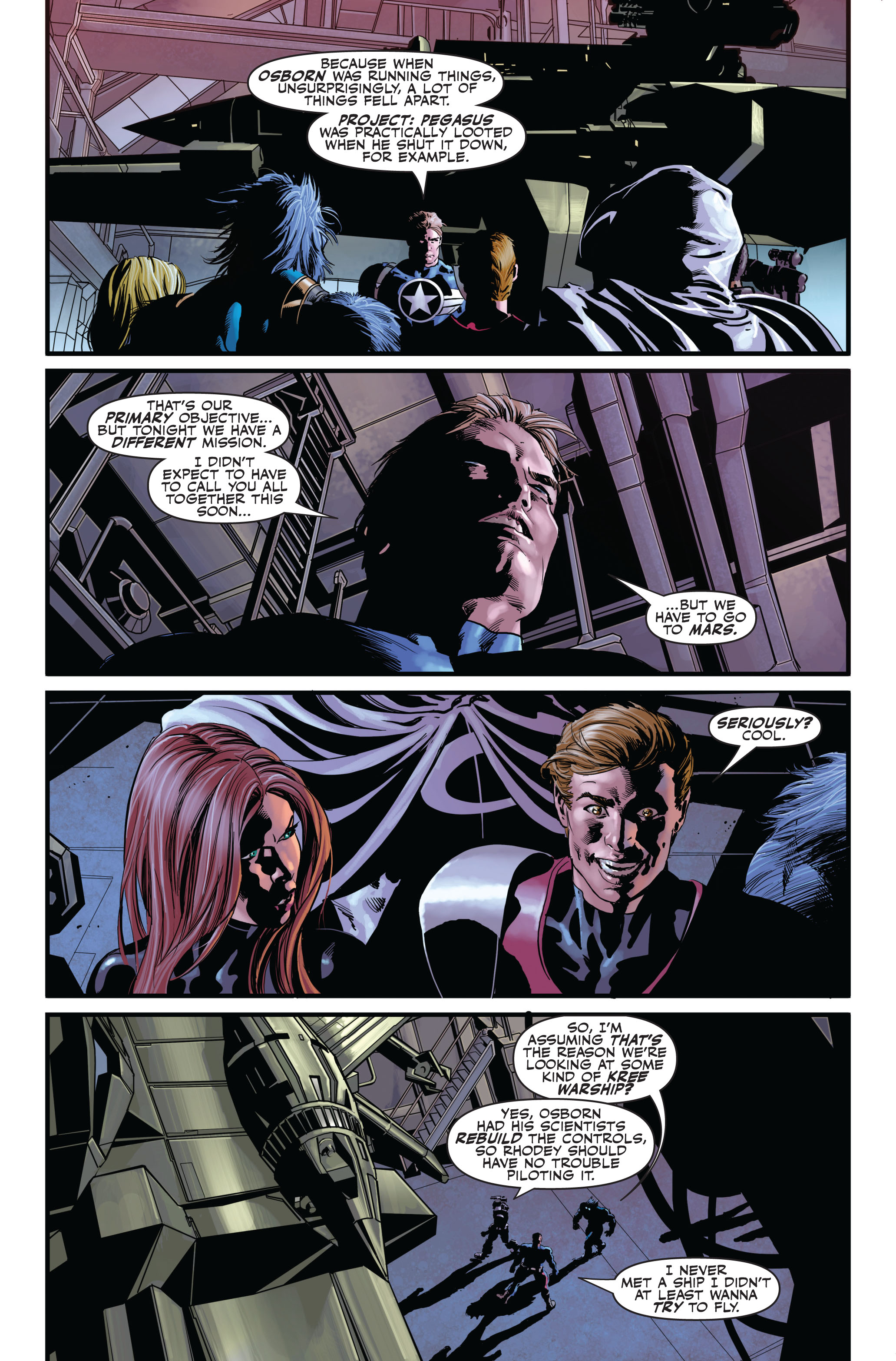 Read online Secret Avengers (2010) comic -  Issue #1 - 21