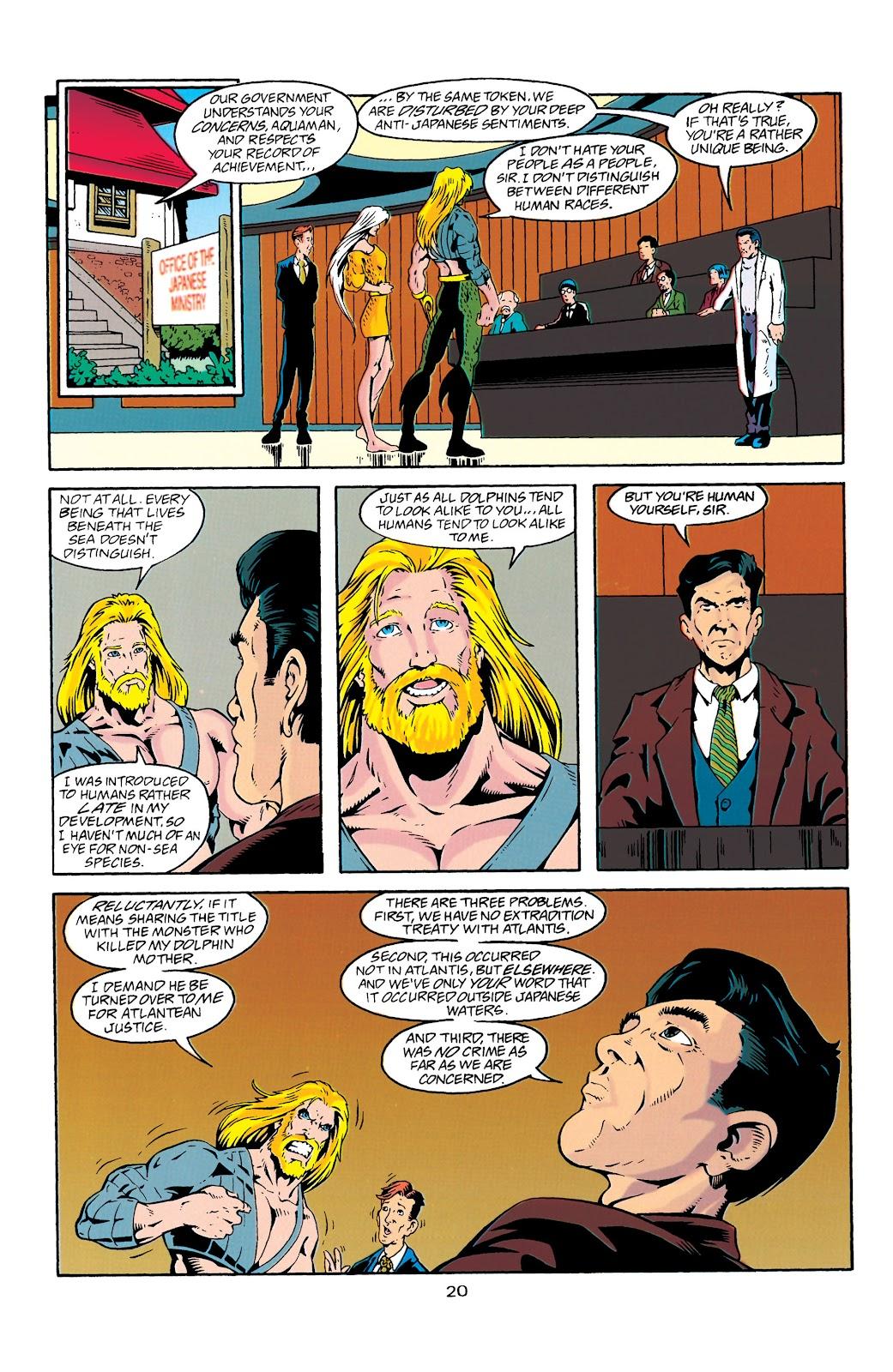 Aquaman (1994) Issue #27 #33 - English 21