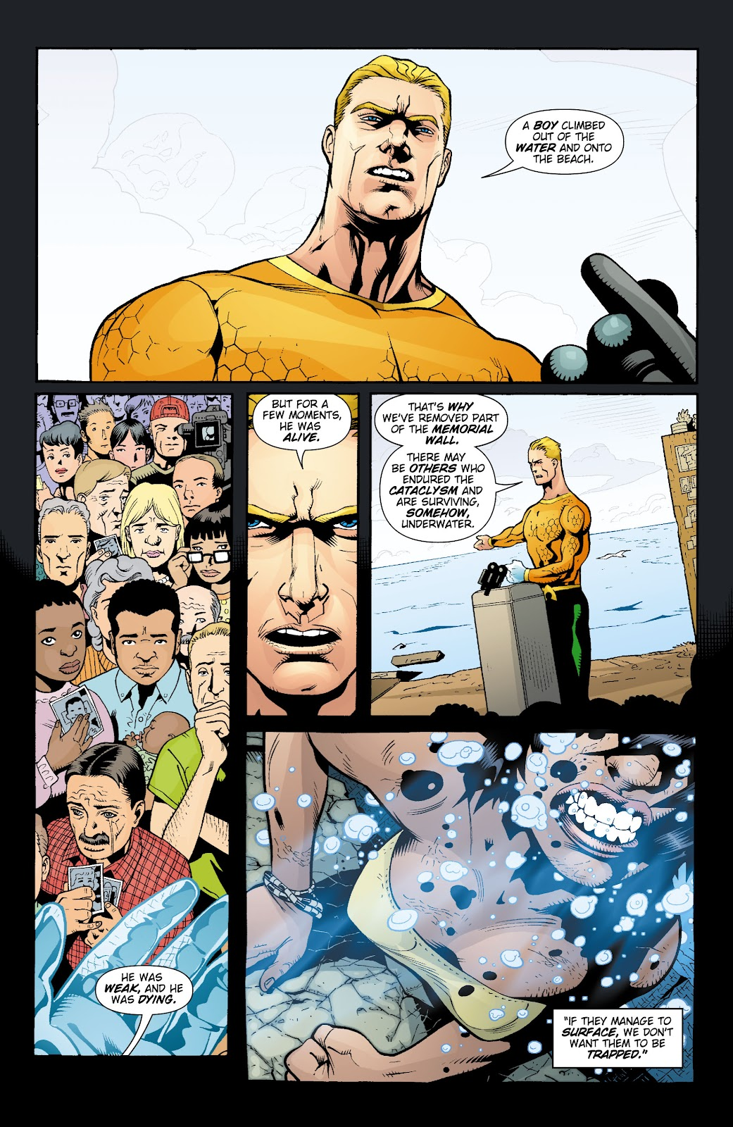 Aquaman (2003) Issue #16 #16 - English 4