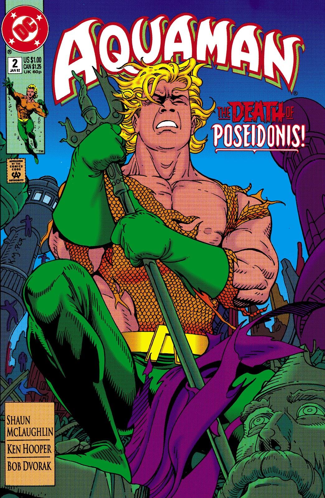 Aquaman (1991) Issue #2 #2 - English 1