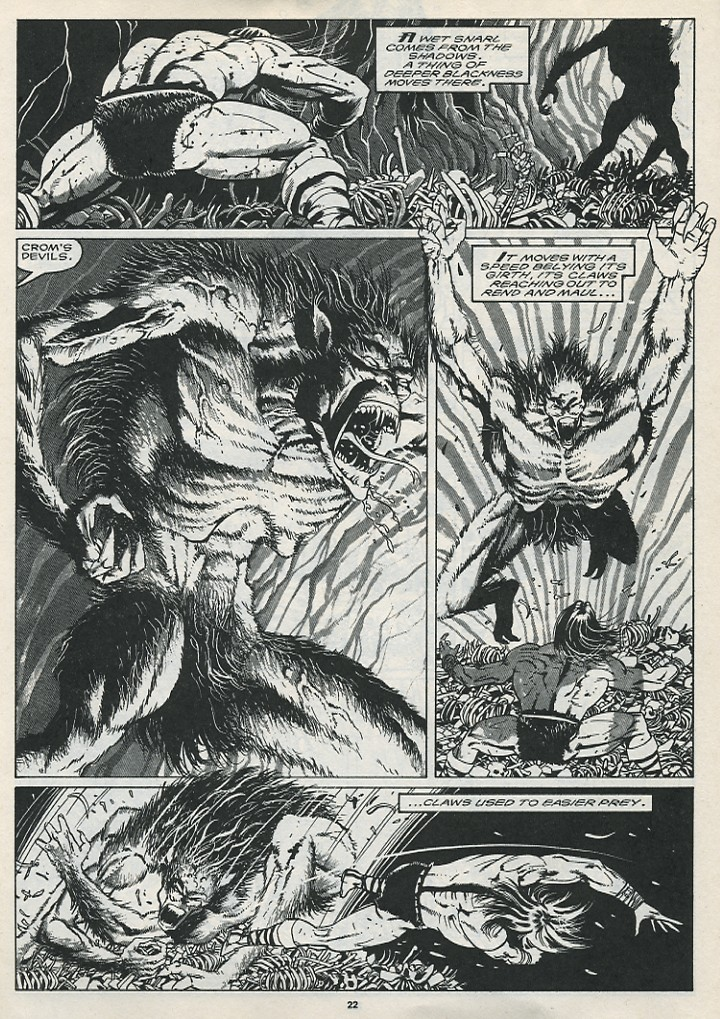 The Savage Sword Of Conan Issue #176 #177 - English 24