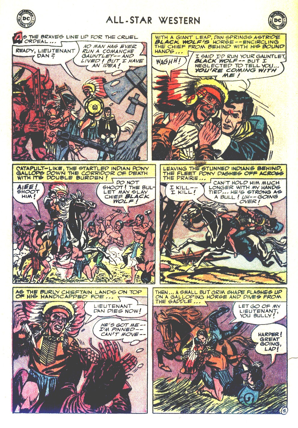 Read online All-Star Western (1951) comic -  Issue #66 - 16