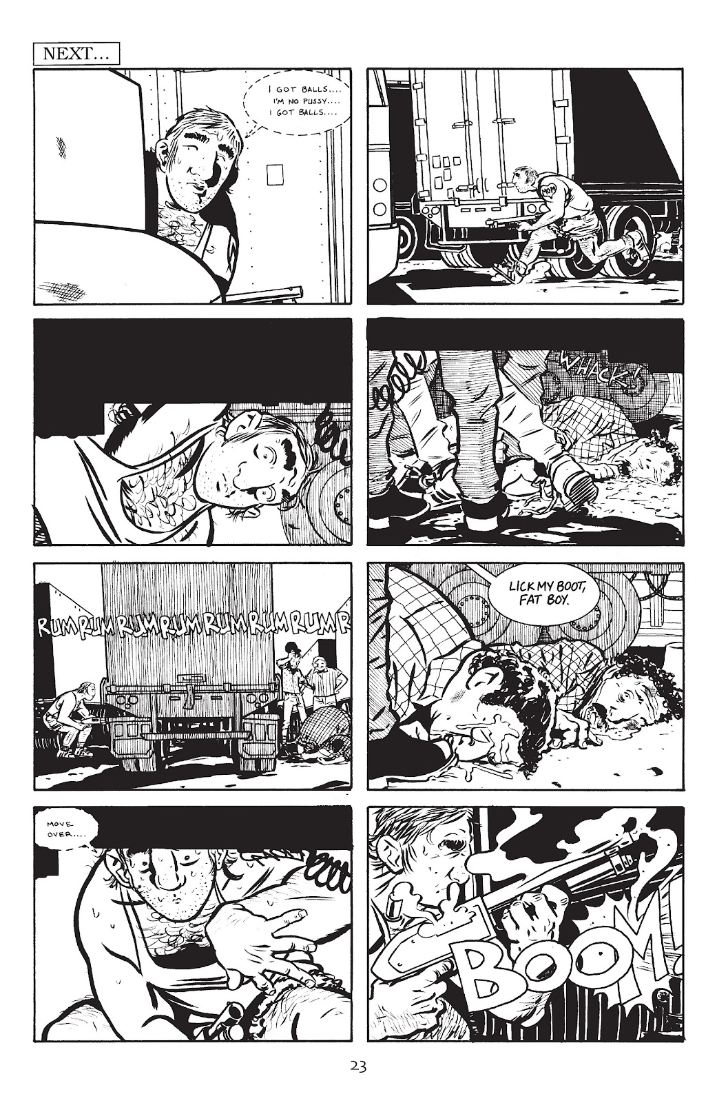 Stray Bullets Issue #9 #9 - English 25