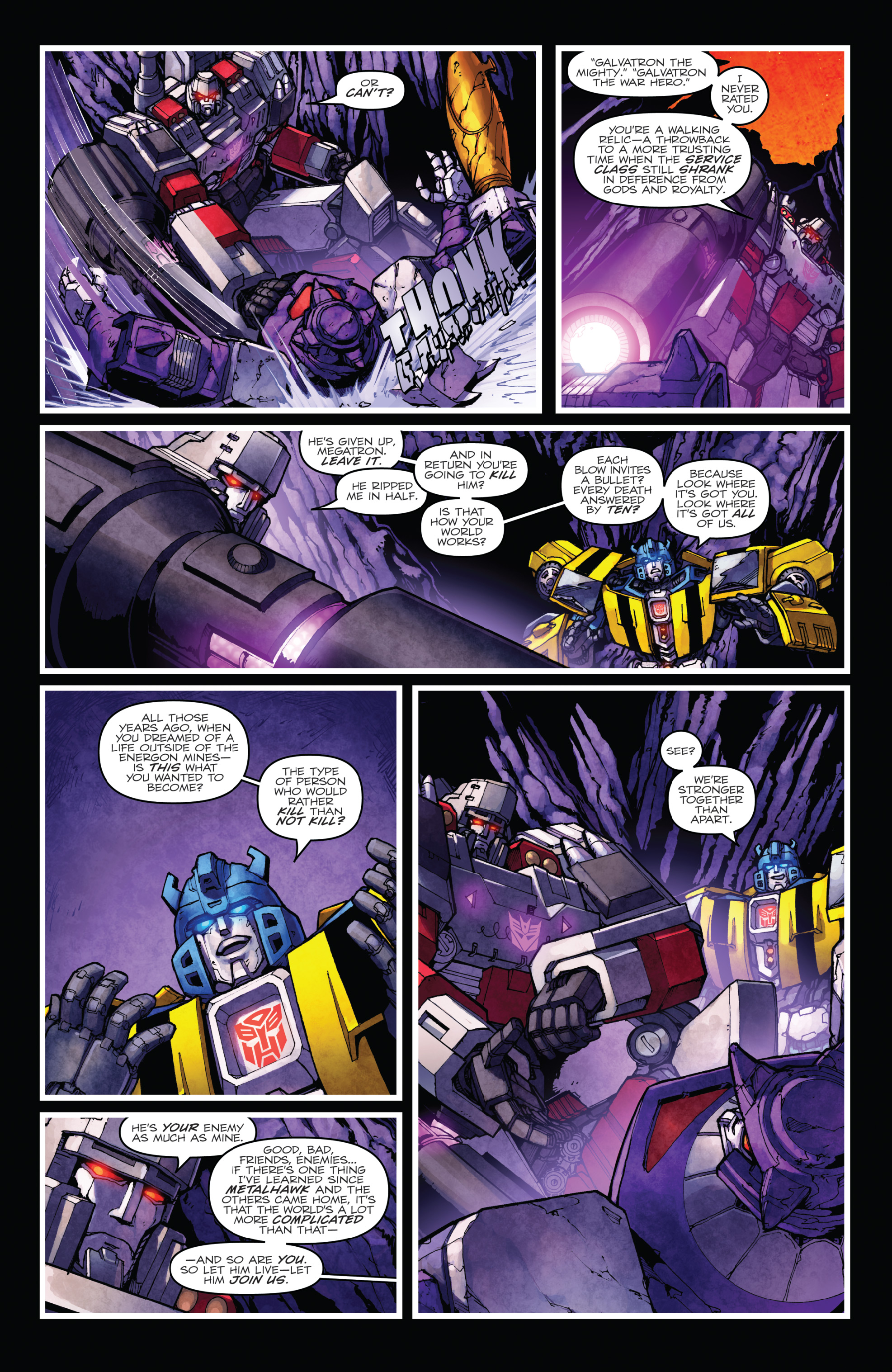 Read online The Transformers: Dark Cybertron Finale comic -  Issue # Full - 118